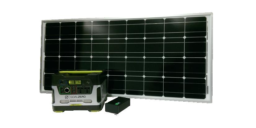 Solarkit<h5>Betreiben Sie Ihr BATmode-System autonom vom Stromnetz</h5>