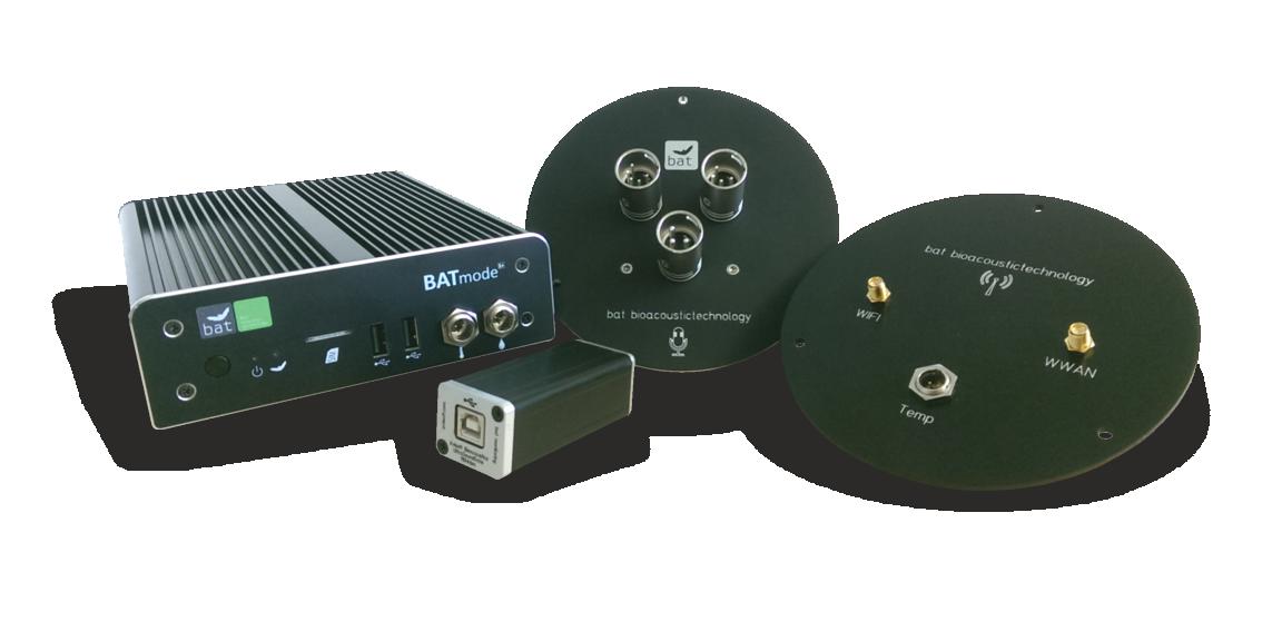 BATmode S/S+ - System<h5>Das innovative System für ein zuverlässiges und kosteneffizientes Monitoring der Fledermausaktivität an Windenergieanlagen</h5>
