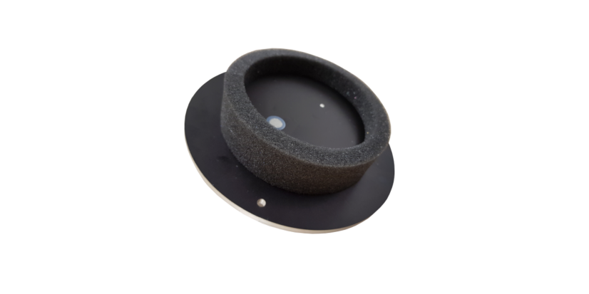 Microphone Disc GM90<h5>Electret Ultrasonic Microphone Disc with Test Signal Speaker</h5>
