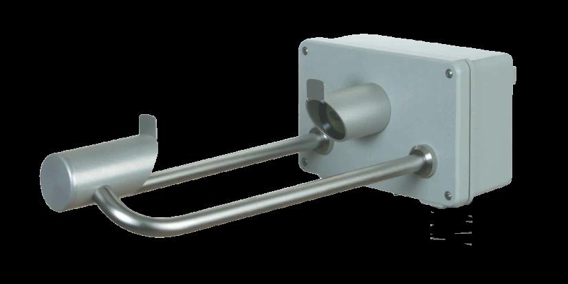 Laser<br>Niederschlagssensor<h5>Der hochgenaue Niederschlagssensor zur Erfassung von Niederschlagsintensität und -art mit dem BATmode System</h5>