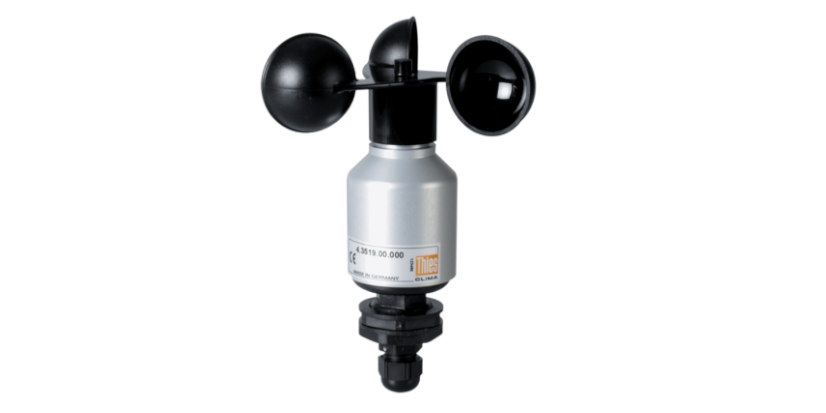 Wind Speed<br>Sensor<h5>Extend your Laser Precipitation Sensor with this high-precision sensor to measure the prevailing wind speed</h5>