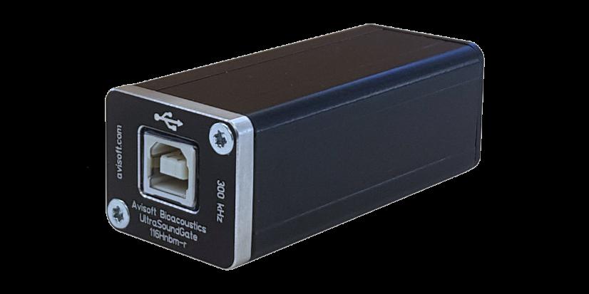 UltraSoundGate</br>116Hnbm-r<h5>Das USB-Interface zur Erweiterung passiver Erfassungssysteme mit einem zusätzlichen Messkanal</h5>