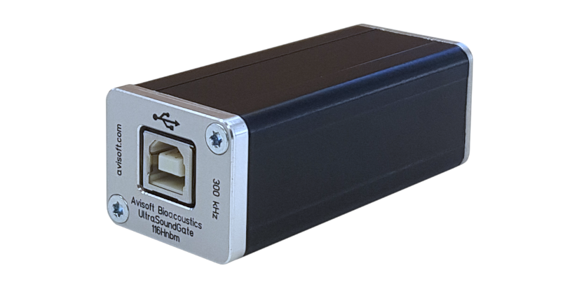 UltraSoundGate</br>116Hnbm<h5>The USB interface to build a passive bat call recording system including the recording software RECORDER</h5>