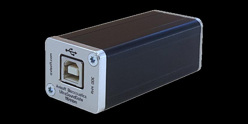UltraSoundGate</br>116Hnbm<h5>Das USB-Interface zur passiven Fledermausruf-Erfassung inklusive Aufnahmesoftware RECORDER</h5>