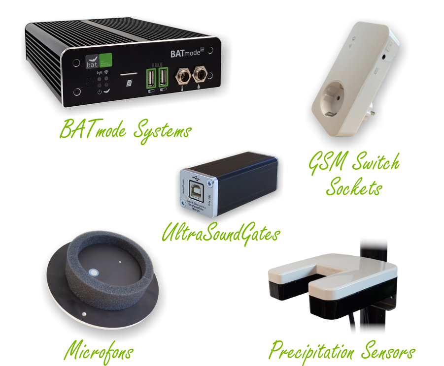 Rental of Bat Detection Systems